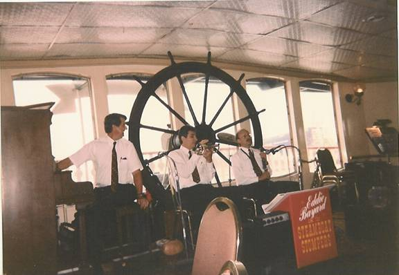 Aboard the Natchez, New Orleans